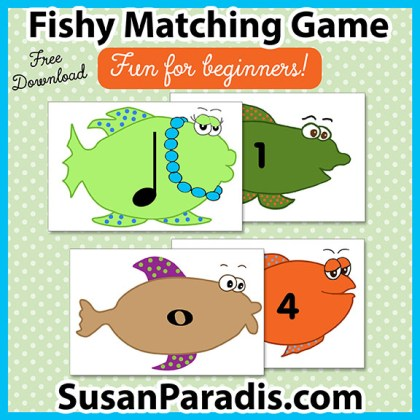 Fishy Matching Game