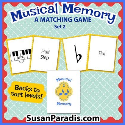 Musical Memory Set Two