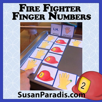 Firefighter Finger Numbers