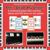Game to learn accidentals