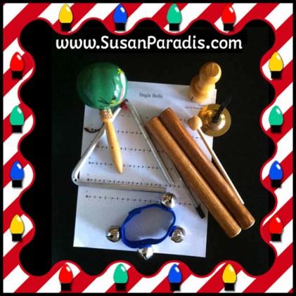 Christmas Rhythm Instruments