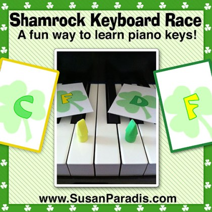 Shamrock Keyboard Race