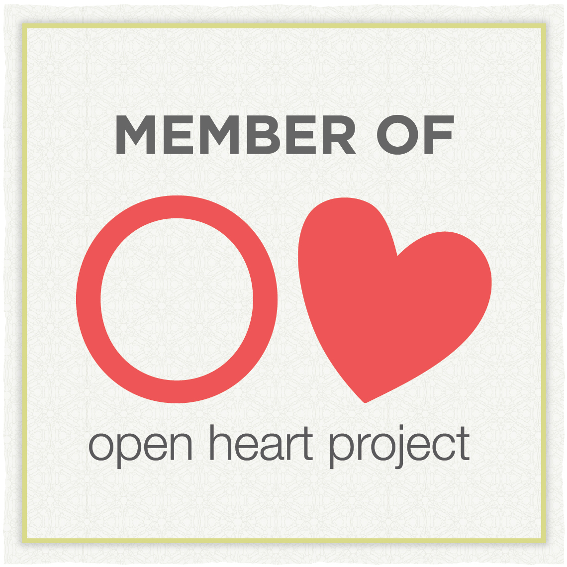 Open Heart Project Badge