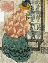 Mars | Woman with Umbrella