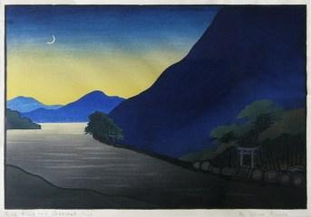 Miller | Blue Hills and Crescent Moon
