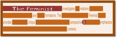 The Feminist | Susan Powers Bourne