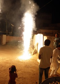 The trip hightlight to me - celebrating Diwali with a local family in the town of Gajner