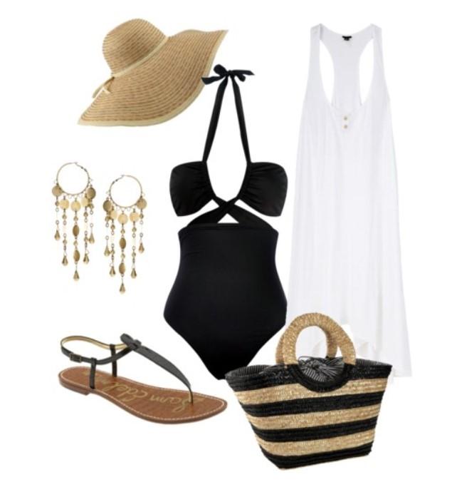 Glam Beachwear for Your Spring Getaway