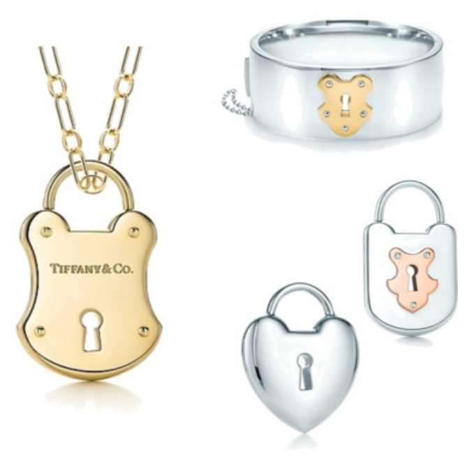 Tiffany Lock Jewelry