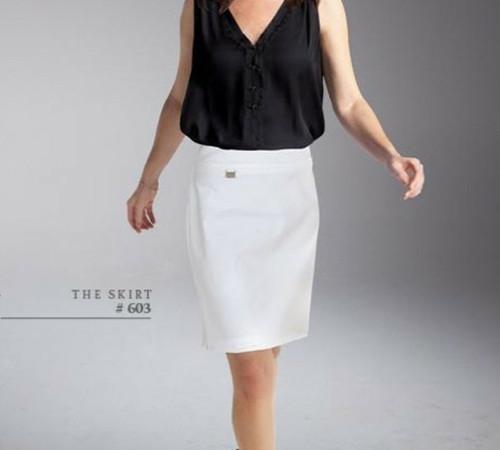 Lisette L: Secretly Slimming  Skirts and Capris