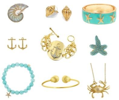Seashore Inspired Jewelry: Welcome June!