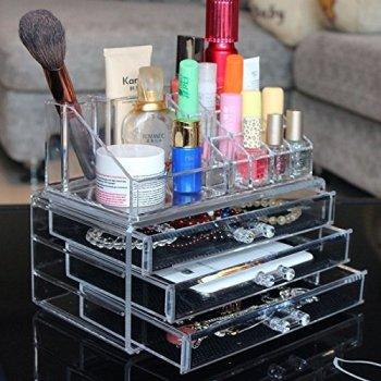 Acrylic Cosmetics Organizer: the Tiny Dorm Solution