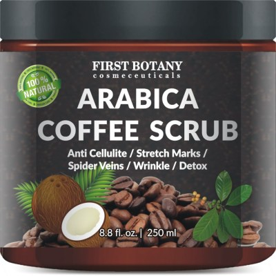 Arabica Coffee Scrub: Wake up Tired Skin