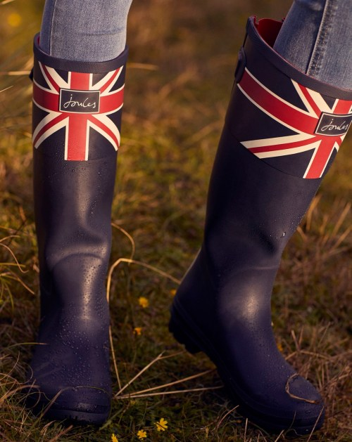 British Flag Rainboots: Style Fit for a Queen