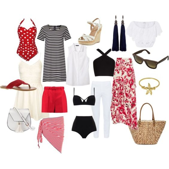 A vacation capsule wardrobe? yes, you CAN pack light!