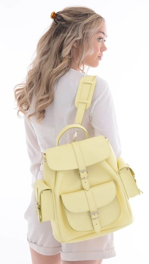 Grafea Leather Backpacks: Campus Chic