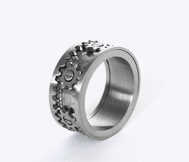 Gear Ring by Kinekt Design is oh-so-cool