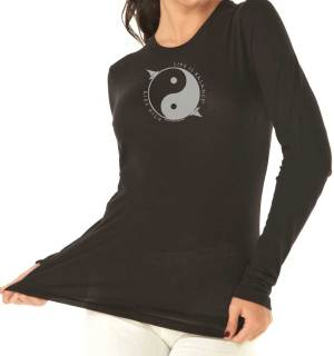 Life is Balance Long Sleeved Tee, $42. Enter the tanks and tees #GIVEAWAY at #SusanSaidWhat now!