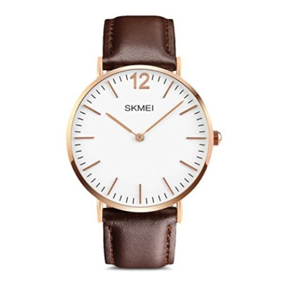Stylish Men's Rose Gold Watch: So On-Trend! And, it's just $14.99 on Amazon Prime!