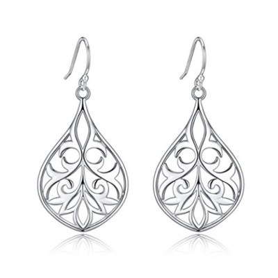 Sterling silver filigree earrings by Renaissance Jewelry are beautiful AND affordable. Only $9.99!