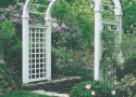 Instant Cottage Garden Style? Just Add Structure!