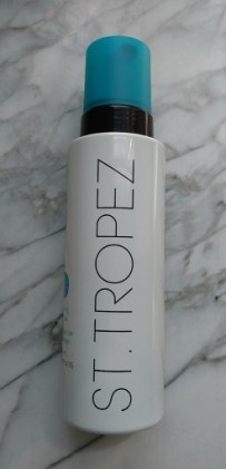 """St. Tropez self tan is easy to use and lets you extend your """"summer glow"""" all fall long!"""
