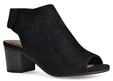 Open Toed Booties are the ultimate transitional shoes for summer to fall.