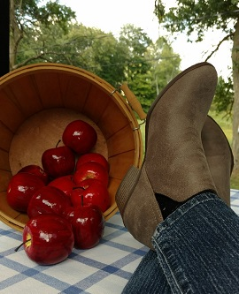 Western Ankle Boots from Lusthave are perfect for work and play. And, they are so comfy!