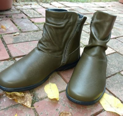 Whisper Boots from Hotter Shoes are slouchy boots for real life