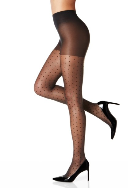 How to wear patterned tights this fall