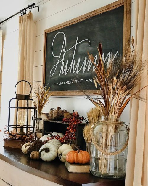 Sophisticated Fall Decorating on a Budget