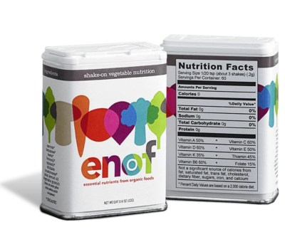 ENOF is enough. Nutrition made easy!