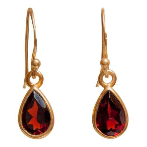 Holiday Gifting? Garnet Earrings (Just $48) are a Perennial Hit