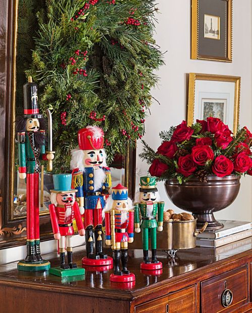 These Nutcracker Collections Inspire Over-the-Top Christmas Decorating