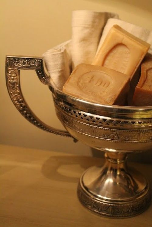 Unexpected uses for silver serving pieces