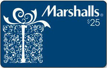Gift Card Giveaway! Win a $25 Marshalls Gift Card. Easy Rafflecopter Entry!