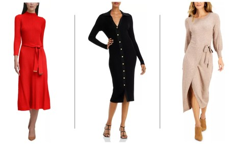 Sweater Dresses - Hectic Mornings Solved