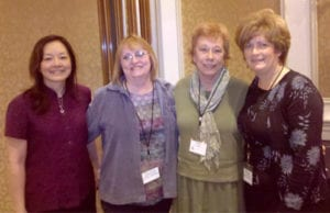 Susan and fellow LifeSuccess Consultants celebrate completion of their training.