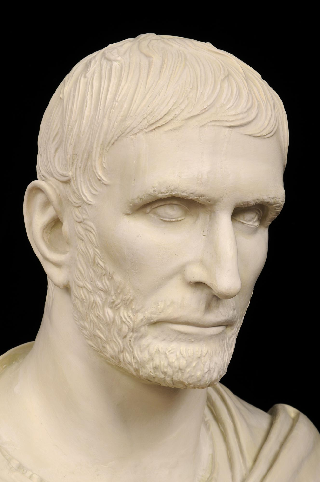 Product  Plaster Bust Of Brutus