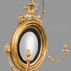 Most Unusual Chairs Outside Table And Chair Sets Irish Regency Antique Giltwood Convex Girondole Mirror