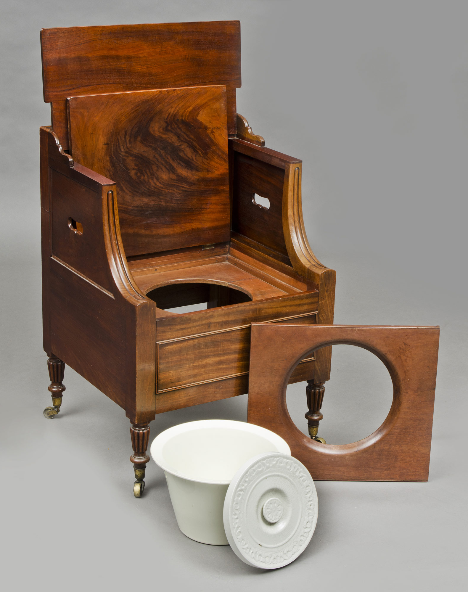 antique commode chair ergonomic for si joint pain commodes georgian mahogany lancashire
