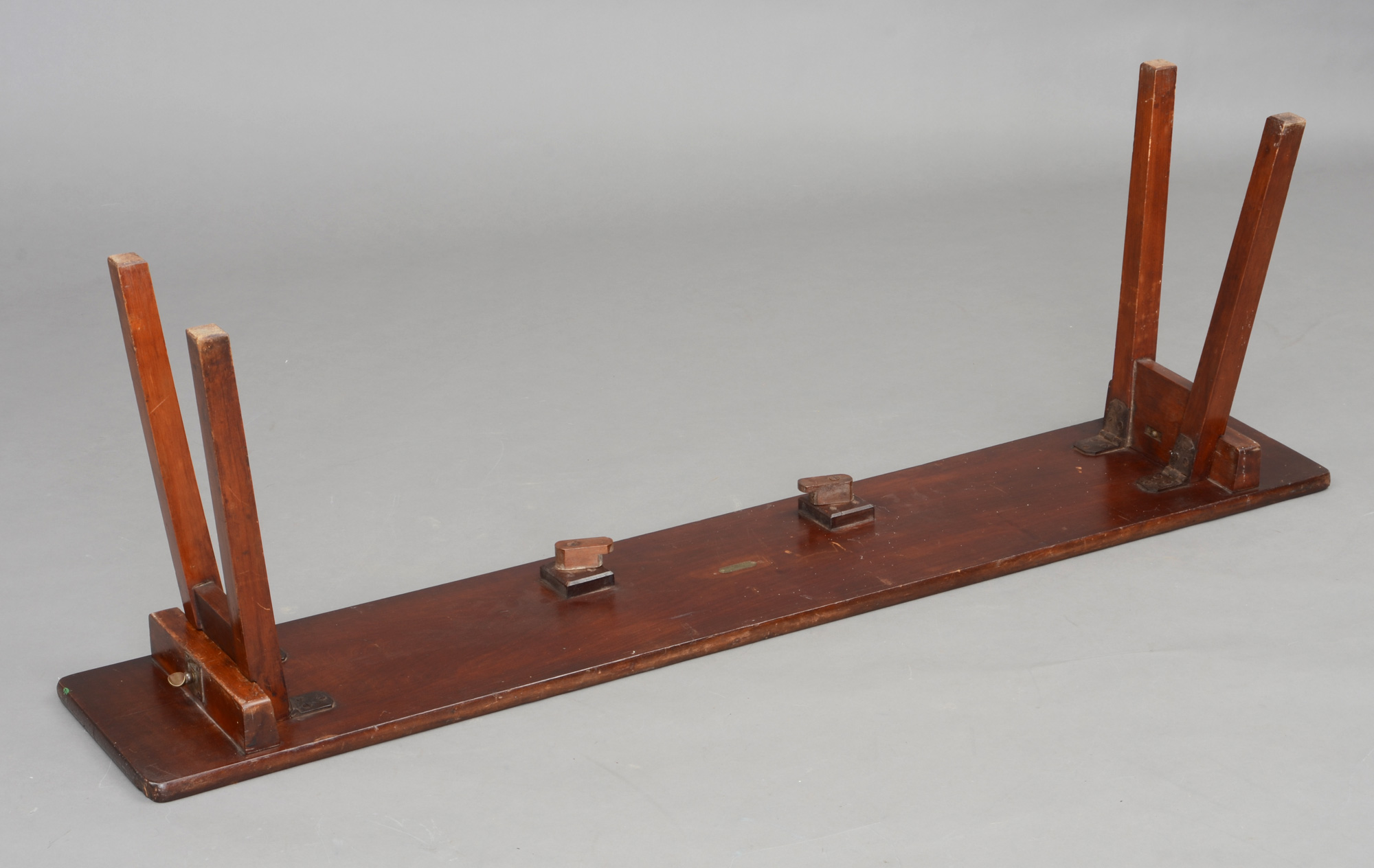 Antique Folding Bench  AngloIndian Antique Folding Army