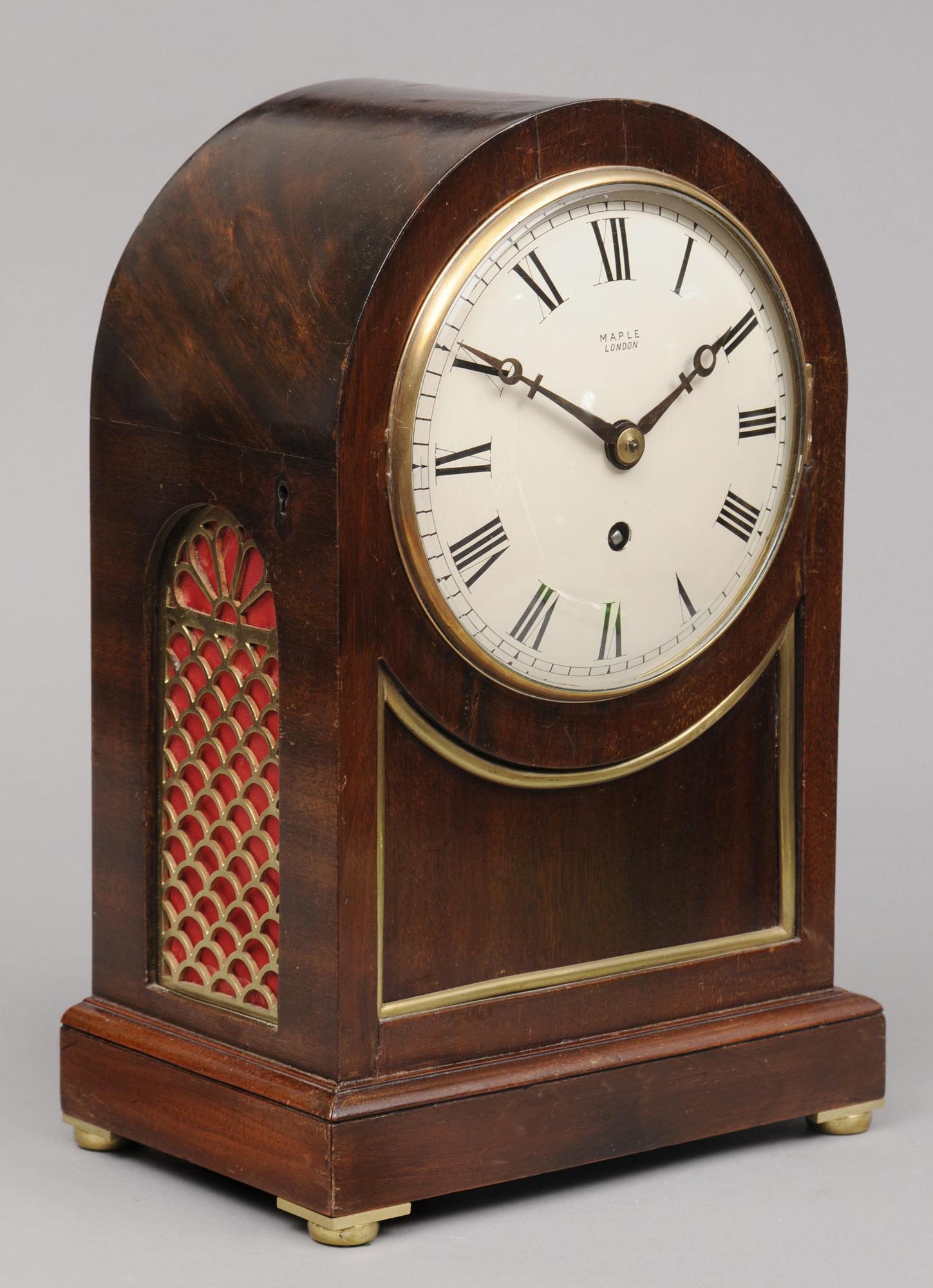 English Antique 8Day Bracket Clock Circa 1890