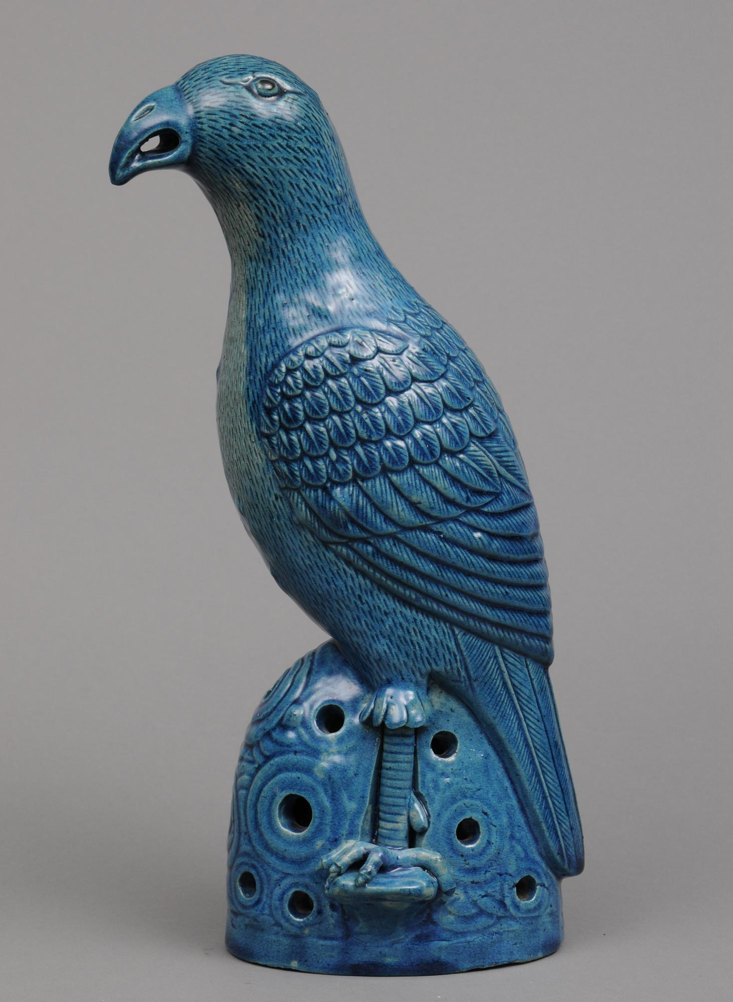 Chinese Turquoise Parrot Circa 1800