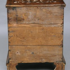 Antique Commode Chair Ground Blind  Product Italian Walnut