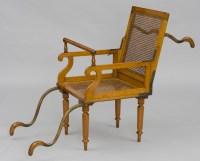 Antique Invalid Armchairs | Victorian Invalid Folding Armchair