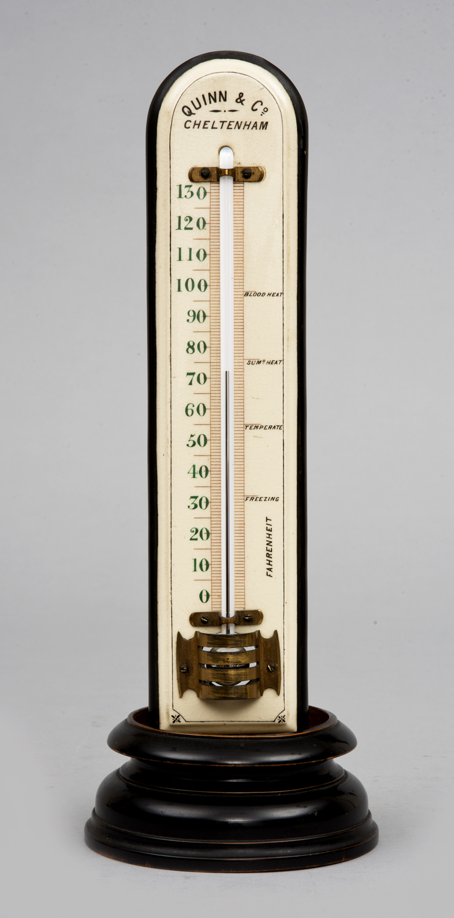 Product  Antique Large Thermometer On Stand Circa 1880