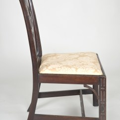 Chinese Chippendale Chairs Kids Anywhere Chair Antique Side Georgian