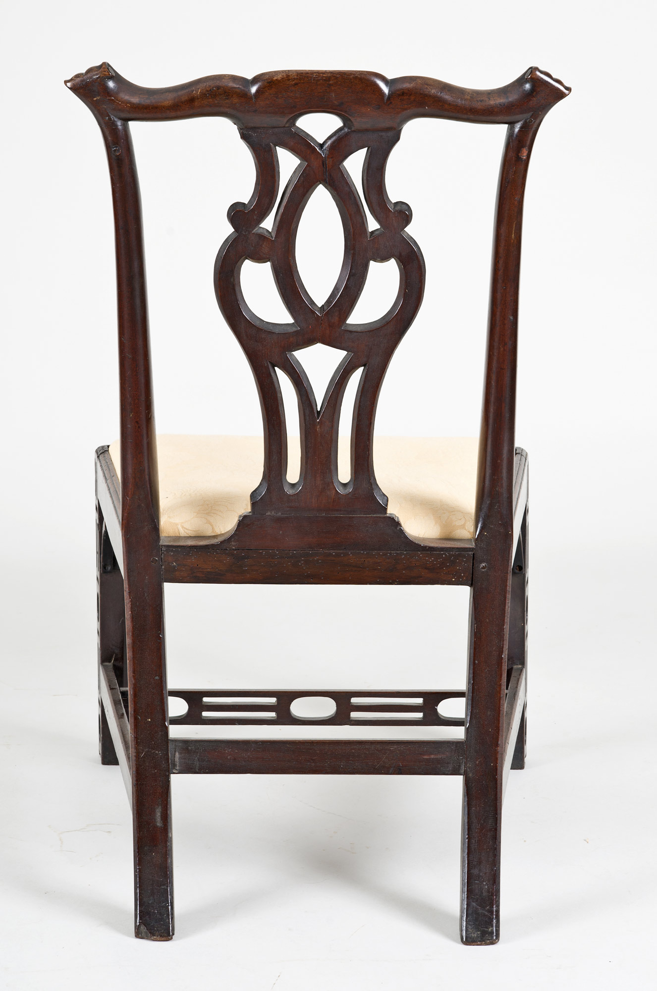 Antique Side Chairs  Georgian Chinese Chippendale Side Chair