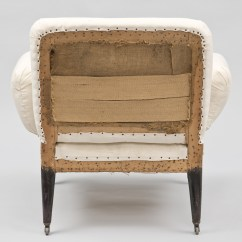 Unusual Armchair 24 Inch Seat Height Chairs Antique French Napoleon Iii Small